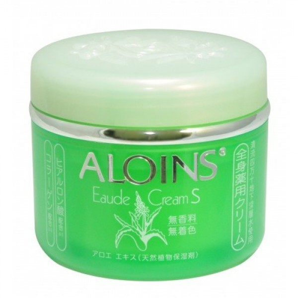 крем для тела с экстрактом алоэ aloins eaude creamEaude Cream. Крем для тела с экстрактом алоэ<br><br>Крем для тела содержит экстракт органического алоэ - природный растительный увлажняющий компонент, а также гиалуроновую кислоту и коллаген.<br><br>Преимущества продукта:<br><br><br>Предотвращает сухость и огрубение кожи, возникновение трещин.<br><br>Препятствует появлению воспалений, прыщей, потницы.<br><br>Активизирует регенерацию клеток кожи.<br><br>Смягчает, увлажняет и питает, придает упругость<br><br><br>Защищает кожу от:<br><br><br>раздражения после бритья;<br><br>покраснения после загара, в том числе полученного в горах;<br><br>обморожения.<br><br><br>Не содержит ароматизаторов и красителей.<br><br>Способ использования: нанесите необходимое количество средства на ладони, аккуратно распределите по телу.<br><br>Меры предосторожности: при покраснении, зуде, раздражении после применения прекратите использование средства и проконсультируйтесь с врачом-дерматологом. Не храните в местах повышенных/пониженных температур, избегайте попадания прямых солнечных лучей.<br><br>Объем: 185 мл<br>