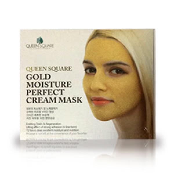 маска для лица антивозрастная с золотом (набор) anskin gold moisture perfect cream maskGold Moisture Perfect Cream Mask. Маска для лица антивозрастная с золотом (Набор)<br><br>Роскошный уход за зрелой кожей обеспечивает антивозрастная маска с чистым золотом и уникальным пептидным комплексом, запускающим процессы омоложения.<br><br>Маска оказывает глубокое увлажняющее действие,а также обладет восстанавливающими, укрепляющими свойствами, разглаживает кожу и выравнивает ее тон. Также маска помогает избавиться от токсинов, нейтрализует действие свободных радикалов, что также замедляет дальнейшее увядание кожи.<br><br>Золото в составе маски играет роль катализатора: благодаря своей особой биологической активности и размерам меньше микрона оно помогает молекулам кислорода быстрее проникать в кожу, в результате чего улучшаются обменные процессы, стимулируются процессы регенерации, клетки кожи быстрее обновляются. Также золото усиливает циркуляцию крови, что приводит к более эффективному удалению токсинов и шлаков. Обладает сильными антибактериальными и противовоспалительными свойствами: способствует заживлению акне и предупредждает появление новых, нормализует работу сальных желез и приводит к сужению пор.<br><br>Золото усилвает эффективность остальных компонентов, в том числе и пептидов - известных борцов со старением кожи.<br><br>Пептиды на сегодняшний день одни из самых перспективных anti-age компонентов. Обладают уникальными свойствами проникать через слой отмерших клеток кожи и воздействовать на жизнедеятельность живых клеток, управляя различными процессами в коже, в том числе, замедляют ее увядание.<br><br>Маска с пептидами стимулирует образования коллагена, контролирует меланогенез (образование меланина). Кроме того, пептиды повышают естественные механизмы антиоксидантной защиты.<br><br>При регулярном применении маски кожа становится хорошо увлажненной, гладкой и упругой, уменьшается глубина морщин, выравнивается тон кожи.<br><br>Способ применения: Смешать пептидный