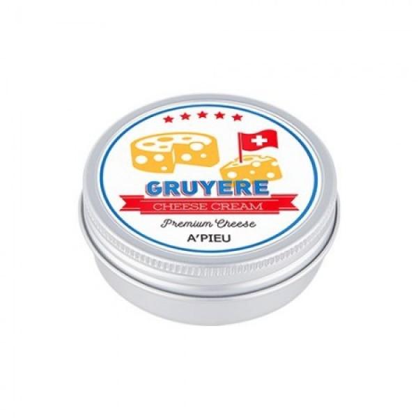 многофункциональный крем с сыром грюйер apieu gruyere cheese creamGruyere Cheese Cream. Многофункциональный крем с сыром грюйер<br><br>Сырный крем для лица содержит экстракт сыра Грюйер, экстракт молочного белка, масло сладкого миндаля, масло какао, масло ши, масло авокадо.<br><br>Многофункциональный крем, мгновенно поглощается сухой кожей, восстанавливая оптимальный уровень влаги и питательных веществ. Защищает кожу от неблагоприятного воздействия окружающей среды, способствует выработке собственного коллагена.<br><br>Сырные ферменты придают кремупузырьковую текстуру мусса.<br><br>Экстракт какао обладает выраженными регенерирующими и увлажняющими свойствами, великолепно питает и защищает кожу, способствует заживлению микротравм и трещин, разглаживает рельеф кожи, тонизирует и замедляет процессы старения. Глубоко увлажняет и питает кожу, препятствует шелушению и потере кожей влаги, надежно защищает от воздействия негативных факторов окружающей среды.<br><br>Молочные протеины обновляют эпидермис и стимулируют процесс роста молодых клеток, оказывают противовоспалительное действие, осветляют кожу, отшелушивают отмершие клетки, укрепляют и увлажняют обезвоженную кожу, избавляют от мелких морщин, способствуя увеличению синтеза коллагена.<br><br>Применение:&amp;nbsp;Нанесите крем на проблемные участки кожи мягкими, массирующими движениями.<br><br>Объем: 45 мл<br>