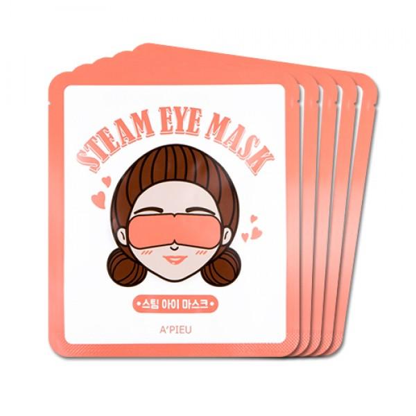 расслабляющая маска для уставших глаз apieu steam eye maskSteam Eye Mask. Расслабляющая маска для уставших глаз<br><br>Медленное и длительное нагревание способствует расслаблению и релаксации.<br><br>Отличный способ отдохнуть перед сном или в дороге (при перелете) Температура нагревания примерно 40 градусов.<br><br>Способ применения:<br><br>1. Извлеките маску из упаковки. Необходимо сразу же использовать.<br><br>2. Разместите маску на закрытые глаза и закрепите ее на мочках ушей.<br><br>3. После 20 минут снимите маску, ее действие медленно заканчивается.<br><br>Подходит для одноразового использования.<br><br>Вес: 12 г х 5 шт<br><br>Вес г: 60.00000000