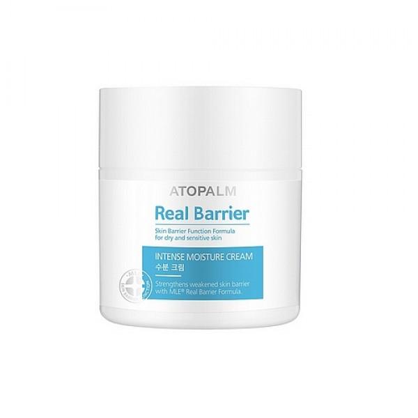 защитный крем atopalm real barrier extreme creamКрем защищает кожу, удерживает влагу, увеличивает эластичность и поддерживает оптимальный уровень увлажненности на протяжении 72 часов (согласно результатам тестов). Для того чтобы защитить кожу от негативного влияния окружающей среды (резкого ветра, пыли и прямых солнечных лучей) нанесите крем плотным слоем на кожу лица.<br><br>&amp;nbsp;<br><br>Применение:&amp;nbsp;массирующими движениями нанесите на кожу лица после использования эссенции-спрея<br><br>&amp;nbsp;<br><br>Состав:&amp;nbsp;Aqua/Water, Caprylic/capric triglyceride, Butylene glycol, Cetearyl alcohol, Glycerin, Propanediol, Water, Acetyl dipeptide-1 cetyl ester, Water, Biosaccharide gum-1, Panthenol, Stearic acid, Glyceryl stearate, Polyglyceryl-10 distearate, Sorbitan stearate, Olea europaea (Olive) fruit oil, Hydrogenated vegetable oil, Viscum album (Mistletoe) fruit extract, Dimethicone, 1,2-Hexanediol, Myristoyl/palmitoyl oxostearamide/arachamide MEA, Phytosterols, Tocopheryl acetate, Carbomer, Caprylyl glycol, Dihydroxyisopropyl&amp;nbsp; palmoylpalmamide, Allantoin, Lavandula angustifolia (Lavender) oil, Citrus aurantium dulcis (orange) oil, Vetiveria zizanoides root oil, Sodium hyaluronate, Madecassoside<br>