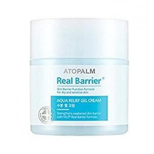 увлажняющий успокаивающий гель-крем atopalm real barrier aqua relief gel creamReal Barrier Aqua Relief Gel Cream. Увлажняющий успокаивающий гель-крем<br><br>Гель-крем имеет легкую консистенцию, быстро впитывается и насыщает кожу влагой, охлаждая и успокаивая. Низкомолекулярная гиалуроновая кислота способствует более глубокому увлажнению.<br><br>Средство с гелевой консистенцией идеально подходит для комбинированного типа кожи. Дерматологически тестировано.<br><br>Не содержит: парабены, минеральное масло, искусственные отдушки, искусственные красители, этанол, феноксиэтанол, бензофенон, пропилен гликоль, ПЭГ, диэтаноламин.<br><br>Меры предосторожности: Не используйте на поврежденной коже. При появлении следующих симптомов прекратите использование: раздражение, сыпь, покраснение, зуд. Если симптомы не проходят, обратитесь за консультацией к врачу. При попадании в глаза немедленно промойте водой.<br><br>Способ применения: Используйте утром и вечером. Нанесите средство на кожу лица массирующими движениями<br><br>Объем: 50 мл<br>