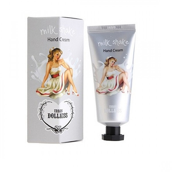 крем для рук shake смягчающийDollkiss Shake Hand Cream.&amp;nbsp;Крем для рук Shake смягчающий<br><br>&amp;nbsp;<br><br>Крем с легкой невесомой текстурой обволакивает кожу рук и обеспечивает ей интенсивное увлажнение, питание, а также защиту от внешнего воздействия окружающей среды, образую защитный барьер.<br><br>&amp;nbsp;<br><br>В составе крема целый комплекс растительных экстрактов, которые наполняют кожу влагой, витаминами, минеральными веществами. Благодаря натуральному составу крем способствует заживлению микротрещин, устраняет сухость и шелушения, смягчает огрубевшие участки.<br><br>&amp;nbsp;<br><br>Регулярное применение крема сделает руки ухоженными – кожа станет упругой и эластичной, гладкой и шелковистой, выравнивается ее тон и разглаживаются морщины.<br><br>&amp;nbsp;<br><br>Крем представлен тремя ароматами:<br><br><br>Baviphat Dollkiss Milk Shake Hand Cream – нежное молоко<br><br>Baviphat Dollkiss Peach Shake Hand Cream – сладкий персик<br><br>Baviphat Dollkiss Lemon Shake Hand Cream – бодрящий лимон<br><br><br>Способ применения: Нанести крем на очищенную кожу рук легкими массирующими движениями.<br><br>&amp;nbsp;<br><br>Объём: 35 мл<br>