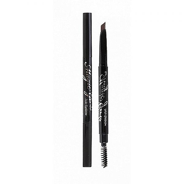 автоматический карандаш для бровей baviphat magic girls auto eyebrowMagic Girls Auto Eyebrow. Автоматический карандаш для бровей<br><br>Создать макияж, законченный и безупречный, поможет автоматический карандаш от Baviphat. Удобный и двусторонний, он быстро и просто придаст бровям желаемую форму, а также подарит им более яркий и насыщенный цвет.<br><br>&amp;nbsp;<br><br>С одной стороны находится грифель скошенной формы. Его специальная текстура мягко прорисовывает брови, не царапая кожу и не растягивая ее. При этом средство не размазывается даже в жаркую погоду и не осыпается.<br><br>&amp;nbsp;<br><br>С другой стороны - щеточка, удобная и компактная, позволяет распределить красящий пигмент, пригладить волоски и придать им нужное направление.<br><br>&amp;nbsp;<br><br>Варианты оттенков:<br><br><br>01 - черный<br><br>02 - темно-коричневый<br><br>03 - латте-коричневый<br><br><br>&amp;nbsp;<br><br>Способ применения: Штрихами прорисовать желаемую форму, затем щеточкой придать бровям нужное направление.<br><br>&amp;nbsp;<br><br>Вес: 1,4 гр.<br><br>Вес г: 1.40000000