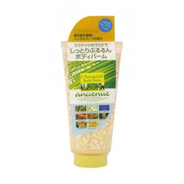 бальзам для тела с ароматом цитрусов bcl enuenue chargefull body balmEnuenue Chargefull Body Balm. Бальзам для тела с ароматом цитрусов и трав увлажняет и смягчает кожу, приятно освежает. Легко наносится, быстро впитывается.<br><br><br>В составе 10 натуральных природных компонентов:<br><br><br>&amp;nbsp;&amp;nbsp;&amp;nbsp; церамиды образуют липидный барьерный слой кожи, увеличивают уровень увлажнения, препятствуют обезвоживанию;<br><br>&amp;nbsp;&amp;nbsp;&amp;nbsp; гиалуроновая кислота поддерживает оптимальный уровень влаги в клетках кожи, предотвращает сухость;<br><br>&amp;nbsp;&amp;nbsp;&amp;nbsp; морской коллаген увлажняет, повышая упругость и эластичность кожи;<br><br>&amp;nbsp;&amp;nbsp;&amp;nbsp; мёд богат питательными веществами, натуральный увлажняющий и смягчающий кожу компонент;<br><br>&amp;nbsp;&amp;nbsp;&amp;nbsp; экстракт алоэ Вера обладает выраженными увлажняющими и смягчающими свойствами, содержит биоактивный комплекс аминокислот и витаминов;<br><br>&amp;nbsp;&amp;nbsp;&amp;nbsp; масло семян кукуи - увлажняющий и смягчающий компонент;<br><br>&amp;nbsp;&amp;nbsp;&amp;nbsp; экстракт моркови (фитоколлаген) увлажняющий компонент;<br><br>&amp;nbsp;&amp;nbsp;&amp;nbsp; экстракт листьев имбиря восстанавливает энергетический баланс кожи, оказывает регенерирующее и тонизирующее действие;<br><br>&amp;nbsp;&amp;nbsp;&amp;nbsp; экстракт беламканды - увлажняющий компонент;<br><br>&amp;nbsp;&amp;nbsp;&amp;nbsp; экстракт соевых бобов питает и смягчает кожу.<br><br><br><br>Способ применения: наносится на кожу тела до полного впитывания.<br><br>Меры предосторожности: при покраснении, зуде, раздражении после применения прекратите использование средства и проконсультируйтесь с врачом-дерматологом. Избегайте попадания в глаза, при попадании сразу же промойте глаза водой. Храните в недоступных для детей местах. Не храните в местах повышенных/пониженных температур, избегайте попадания прямых солнечных лучей.<br><br>Состав: вода, глицерин, цетил этилгексановой кислоты, BG