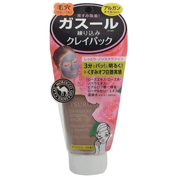 крем - маска для лица с глиной (роза) bcl tsururi mineral clay pack (rose)Tsururi Mineral Clay Pack (Rose). Крем - маска для лица с глиной (с ароматом розы) <br><br>Маска для лица с каолином и марокканской глиной Гассуль прекрасно очищает поры кожи от загрязнений, излишков кожного сала и ороговевших клеток эпидермиса. Тусклая кожа заметно светлеет, становится гладкой, без загрязнённых расширенных пор и чёрных точек. Комбинация из натуральных минеральных компонентов – каолина,&amp;nbsp; маррокканской глины Гассуль,&amp;nbsp; масла арганы и растительных экстрактов нежно и бережно ухаживает за кожей.<br><br>Исключительные абсорбирующие свойства глины Гассуль помогают крем-маске глубоко проникнуть в поры кожи и удалить самые глубокие загрязнения.&amp;nbsp; Маска мягко очищает кожу, минерализуя и восстанавливая ее структуру.&amp;nbsp; Мед, маточное молочко, экстракт цветков столепестковой розы и экстракт шиповника ухаживают за кожей, делая ее мягкой и шелковистой. После снятия маски рекомендуется сделать легкий массаж кожи лица с помощью любого питательного крема.<br>Не содержит искусственных красителей. Имеет естественный оттенок глины.<br>Обладает ароматом розы.<br><br>Способ использования: на предварительно очищенную кожу лица, шеи, зоны декольте нанести маску густым слоем снизу вверх по массажным линиям, обходя кожу вокруг глаз.&amp;nbsp; Через 3-5 минут маску смыть теплой водой. Использовать 2-3 раза в неделю.<br><br>Меры предосторожности: не использовать при появлении покраснений, зуда, раздражения кожи. В случае возникновения аллергических реакций, прекратите использование средства и проконсультируйтесь с дерматологом.&amp;nbsp; Храните вдали от прямых солнечных лучей при температуре, приближенной к комнатной.<br><br>Состав: каолин, вода, дипропиленгликоль, пентаэритрил тетрагексаноат, магния алюмосиликат, натрия метилкокоилтаурат, аллантоин, масло арганы, масло семян кунжута, мед, натрия гиалуронат, экстракт прополиса, маточное молочко, пентиленгликоль, экстракт 
