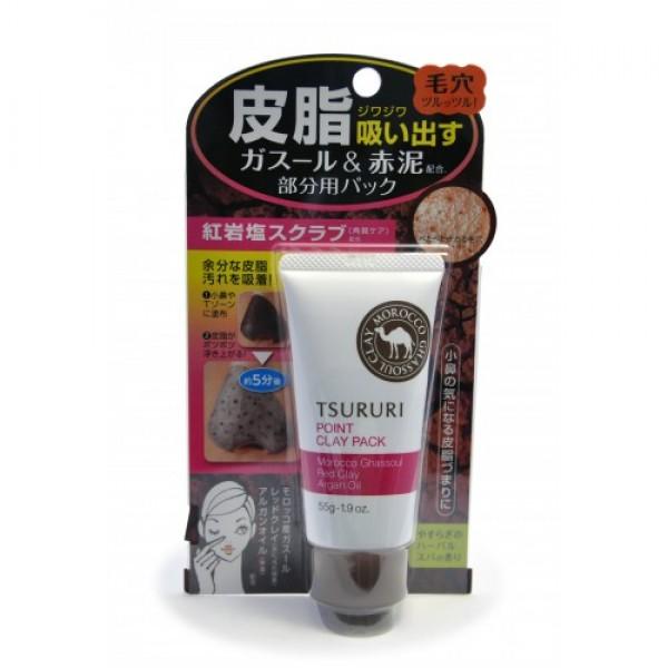 крем - маска для лица с глиной (для т-зоны) bcl tsururi mineral clay packTSURURI MINERAL CLAY PACK. Крем - маска для лица с глиной (для Т-зоны)<br><br>Маска для лица с красной и марокканской глиной прекрасно очищает поры кожи носа и Т-зоны от загрязнений, излишков кожного сала и ороговевших клеток эпидермиса. Тусклая кожа заметно светлеет, становится гладкой, без загрязнённых расширенных пор и чёрных точек.<br><br>Комбинация из натуральных минеральных компонентов - глины 2-х видов, красной каменной соли, масла арганы и растительных экстрактов (листьев гамамелиса и мяты) нежно и бережно ухаживает за кожей Т-зоны. Исключительные абсорбирующие свойства глины помогают крем-маске глубоко проникнуть в поры кожи и удалить самые глубокие загрязнения. Маска мягко очищает кожу, минерализуя и восстанавливая ее структуру. Мед, маточное молочко и экстракт кожуры горького апельсина ухаживают за кожей, делая ее мягкой и шелковистой.<br><br>Не содержит искусственных красителей. Имеет естественный оттенок глины. Обладает расслабляющим ароматом трав.<br><br>Способ использования: на предварительно очищенную кожу Т-зоны нанести маску густым слоем. Через 5-10 минут, когда маска поменяет цвет, смыть теплой водой. Использовать 1-2 раза в неделю.<br><br>Состав: вода, красная глина, тальк, BG, бентонит, глицерил стеарат, циклопентасилоксан, масло аргании колючей, экстракт листьев европейской мяты, мед, экстракт листьев гамамелиса, экстракт кожуры горького апельсина, экстракт маточного молочка, ксантановая камедь, лимонная кислота, цетет-20, пальмитат калия, минеральная соль, метикон, марокканская вулканическая глина, динатрия фосфат, феноксиэтанол, этилпарабен, метилпарабен, ароматизаторы, оксид железа.<br><br>Вес: 55 г<br><br>Вес г: 55.00000000