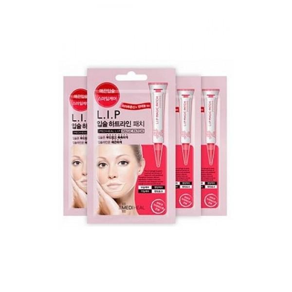 маска гидрогелевая для губ beauty clinic mediheal l.i.p magic patchMediheal L.I.P Magic Patch. Маска гидрогелевая для губ&amp;nbsp;мягко отшелушивает ороговевшие клетки нежной кожи губ, эффективно ухаживает за их контуром, делает губы гладкими и увлажненными, разглаживает. Помогает справиться с проблемой сухих&amp;nbsp; и обветренных губ.<br><br>Активные компоненты: <br><br><br>гиалуроновая кислота, <br><br>пантенол, <br><br>ацетат токоферола, <br><br>экстракт плодов грейпфрута, <br><br>аллантоин.<br><br><br>Маска увлажняет и разглаживает кожу вокруг губ.&amp;nbsp;Удобная форма маски подходит для любой формы губ.<br><br>Способ применения: Нанесите маску на очищенную кожу губ. Через 20-30 минут снимите. Легкими постукивающими движениями пальцев вбейте оставшуюся эссенцию в кожу. Используйте данный продукт 2-3 раза в неделю.<br><br>Меры предосторожности: при покраснении, зуде, раздражении после применения прекратите использование средства и проконсультируйтесь с врачом-дерматологом. При попадании в глаза сразу же промойте их водой. Храните в недоступных для детей местах. Не храните в местах повышенных/пониженных температур, избегайте попадания прямых солнечных лучей.<br><br>Состав: вода, глицерин, 1,2-гександиол, камедь карубы дикой, BG, гиалуронат натрия, феноксиэтанол, каррагинан, пантенол, масло ши, гидрогенизированное касторовое масло ПЭГ-60, аллантоин, трегалоза, фенилтриметикон, дикалия глицирризат, экстракт плодов грейпфрута, токоферола ацетат, отдушка, EDTA-2Na, гидроксид калия.<br><br>Объем: 2,3 г.<br><br>Вес г: 2.30000000