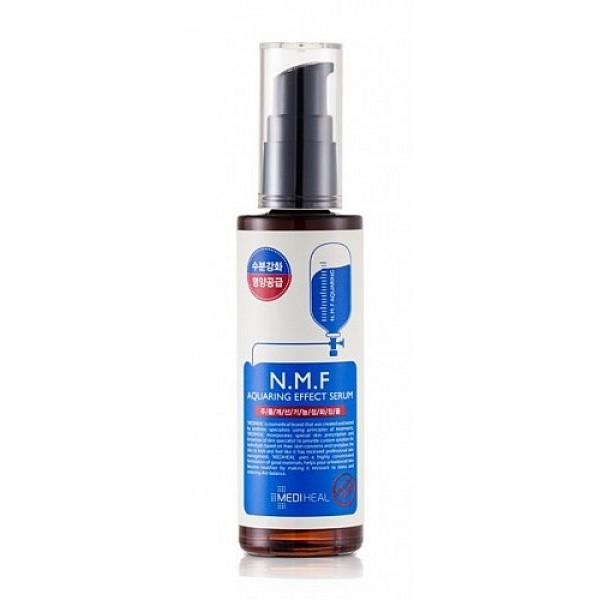 сыворотка для лица увлажняющая с n.m.f. beauty clinic n.m.f. aquaring effect serumN.M.F. Aquaring Effect Serum. Сыворотка для лица увлажняющая с N.M.F. содержит и другие активные увлажняющие и&amp;nbsp; подтягивающие компоненты, такие как&amp;nbsp; глубинная морская вода, гиалуроновая кислота, экстракты древесного гриба, сахарного клена, меда, центеллы азиатской. Интенсивно увлажняет, подтягивает и питает кожу, придает ей свежий вид. Способствует разглаживанию морщин. <br><br><br>&amp;nbsp;&amp;nbsp;&amp;nbsp; NMF (натуральный увлажняющий фактор) - это сложный комплекс молекул в роговом слое кожи, который способен притягивать и удерживать влагу, обеспечивать упругость и плотность рогового слоя кожи. В состав NMF входят низкомолекулярные пептиды, карбамид, пирролидонкарбоновая кислота, аминокислоты и т. д. При недостаточности увлажняющего фактора происходит обезвоживание эпидермиса.<br><br>&amp;nbsp;&amp;nbsp;&amp;nbsp; Глубинная морская вода содержит большое количество питательных веществ&amp;nbsp; и&amp;nbsp; 70 видов минералов, которые активно увлажняют кожу, придают ей здоровый вид, делают цвет кожи более естественным, выравнивают тон кожи.<br><br>&amp;nbsp;&amp;nbsp;&amp;nbsp; Экстракт клена сахарного ускоряет процесс обновления клеток, устраняет омертвевшие клетки эпидермиса и делает кожу более гладкой и свежей. &amp;nbsp;<br><br><br><br>&amp;nbsp;Способ применения: нанесите на очищенную кожу лица и шеи после лосьона и до нанесения крема. Используйте утром и вечером.<br>&amp;nbsp;<br>Меры предосторожности: при покраснении, зуде, раздражении после применения прекратите использование средства и проконсультируйтесь с врачом-дерматологом. При попадании в глаза сразу же промойте их водой. Храните в недоступных для детей местах. Не храните в местах повышенных/пониженных температур, избегайте попадания прямых солнечных лучей.<br>&amp;nbsp;<br>Состав: вода, BG, морская вода, глицерин, циклопентасилоксан, 1,2 гександиол, экстракт дрожалки фукусовидной, экстракт сахарног