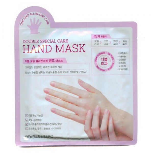 """маска для рук """"комплексный уход"""" beauty clinic double special care hand maskDouble Special Care Hand Mask. Маска для рук """"Комплексный уход""""<br><br>Маска – перчатки обеспечивает комплексный уход за кожей рук, кутикулой и ногтями. Поэтапно увлажняет и мягко защищает, делает здоровой и упругой кожу рук до кончиков пальцев. Разглаживает морщины.<br><br>Особенности продукта:<br><br><br>Коллаген вместо воды: маска на 66% состоит из гидролизованного коллагена. Увлажняет, делает кожу рук упругой и эластичной.<br><br>Комплексный уход: повышение упругости, увлажнение, тонизирование, ежедневный уход за огрубевшими участками кожи и питание за одно применение!<br><br>Разглаживает кожу благодаря содержанию аденозина.<br><br>Запатентованный состав.<br><br><br>Четырехэтапная формула комплексного ухода:<br><br>1 этап – уход за огрубевшими участками кожи. АНА и мочевина смягчают огрубевшие участки кожи, и способствуют более глубокому проникновению активных компонентов.<br>2 этап – увлажнение. Церамиды, коллаген, гиалуроновая кислота, а также комплекс растительных компонентов увлажняют и смягчают кожу рук, делают ее гладкой и шелковистой.<br>3 этап – питание. Молочные белки, масла ши, арганы и какао питают кожу рук, ногти и кутикулу.<br>4 этап – шелковистое покрытие. Питание и увлажнение завершается покрытием из пчелиного воска.<br><br>Способ применения: вымойте и обсушите руки, откройте упаковку, наденьте перчатки на руки, через 15-20 мин. снимите. Оставшуюся эссенцию равномерно распределите по коже массирующими движениями.<br><br>*Перед первым применением рекомендуется нанести небольшое количество средства на кожу для проверки на неблагоприятные реакции.<br><br>Вес:&amp;nbsp;2 шт х 18 г<br><br>Вес г: 36.00000000"""
