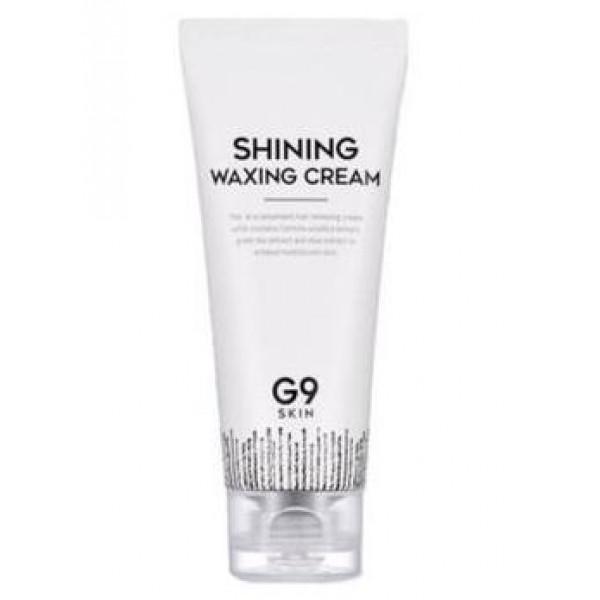 крем для депиляции berrisom g9 skin shining waxing creamG9 Skin Shining Waxing Cream.&amp;nbsp;Крем для депиляции<br><br>Мощное средство для бережного удаления нежелательных волос на теле. Для мужчин и женщин, для светлых тонких и черных толстых. Крем эффективно справляется с поставленными задачами на разных участках тела. Крем пригодится и летом, и зимой – и на пляже, и в бассейне – обладательница или обладатель данного средства будет выглядеть безупречно.<br><br>Крем подходит даже для тех, у кого кожа очень чувствительная – в составе крема высокое содержание натуральных компонентов. Экстракты алоэ вера и центеллы азиатской, масла виноградной косточки и камелии, а также другие полезные для кожи компоненты увлажняют, смягчают и успокаивают ее, оказывают противовоспалительное и ранозаживляющее действие, делают кожу гладкой и упругой.<br><br>Способ применения: Нанести крем на чистую сухую кожу, через 5-10 минут потереть кожу кончиком пальца. Если волоски легко удаляются, то стереть крем и волосы влажным полотенцем, остатки крема смыть теплой водой.<br><br>Вес: 100 г<br><br>Вес г: 100.00000000