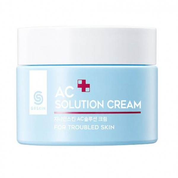 крем для проблемной кожи berrisom g9 ac solution creamG9 AC Solution Cream. Крем для проблемной кожи<br><br>Нежное, но очень эффективное средство для ухода за проблемной кожей с акне. Крем сертифицирован и прошел дерматологический контроль, гипоаллергенный, подходит для самой чувствительной кожи.<br><br>Состав крема идеально сбалансирован: оздоравливающие, увлажняющие и питательные свойства обеспечивают полноценный уход за кожей. Крем ускоряет заживление воспалений и предупреждает появление новых, оберегает кожу от появления рубцов и пятен пост-акне, минимизирует негативное воздействие внешней среды, а также создает защитный барьер от проникновения болезнетворных микроорганизмов.<br><br>Крем содержит огромное количество натуральных компонентов: экстракты лаванды, чайного дерева, мёда, масла ши, кокоса и другие, полезные ингредиенты день за днем делают кожу более здоровой, более ухоженной, возвращают ей красивый, ровный цвет и гладкость.<br><br>Способ применения: Нанести на чистую и тонизированную кожу легкими массажными движениями.<br><br>Объем: 50 мл<br>