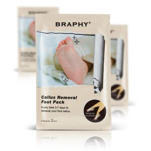 педикюрные носочки до 44 размера ноги (34 см) braphy носочки для педикюра braphy