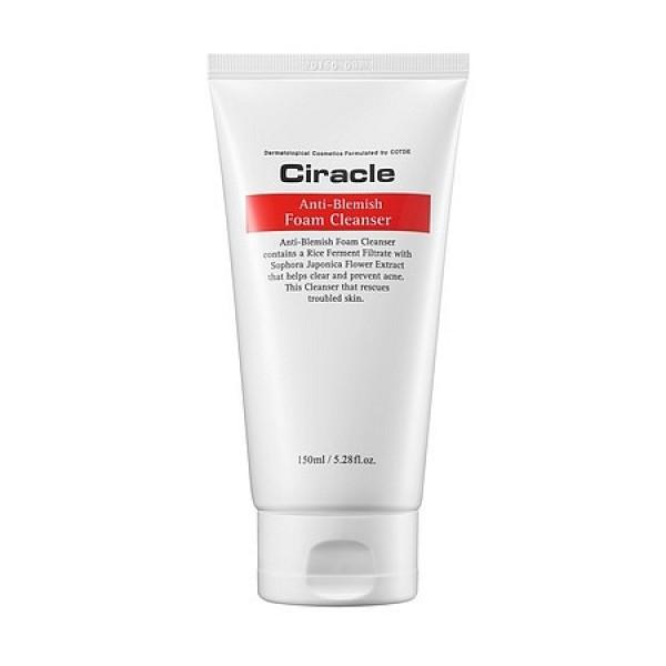 пенка для умывания для жирной кожи ciracle ciracle anti-blemish foam cleanserCiracle anti-blemish Foam Cleanser. Пенка для умывания для жирной кожи и проблемной кожи.<br><br>Нежная, пушистая, розовая пенка предназначена для очищения жирной кожи и кожи с акне.<br><br>&amp;nbsp;<br><br>Тысячи мельчайших пузырьков пенки глубоко проникают в поры, вымывают из них скопившиеся повседневные загрязнения и кожный жир. Также хорошо очищает пенка и поверхность кожи, удаляя с нее омертвевший слой клеток.<br><br>&amp;nbsp;<br><br>Специально подобранный состав этой пенки способствует не только глубокому увлажнению жирной и проблемной кожи, но и оздоравливает ее.<br><br>&amp;nbsp;<br><br>Благодаря увлажняющим компонентам, пенка не вызывает сухость кожи, а, значит, не подвергает ее возникновению стянутости и зуда. Противовоспалительные растительные компоненты пенки способствуют лечению акне и предупреждают появление новых, устраняют зуд и снимают покраснения. Кроме того, пенка регулирует водно-жировой баланс кожи, предупреждает излишнюю выработку кожного жира. Натуральные масла в составе пенки питают и смягчают кожу, делают ее гладкой и упругой.<br><br>&amp;nbsp;<br><br>Пенка клинически протестирована, одобрена дерматологами, может использоваться даже для самой чувствительной кожи. Пенка не только очищает кожу, но и устраняет покраснения, делает кожу естественно сияющей.<br><br>&amp;nbsp;<br><br>Способ применения: Вспенить средство, нанести массирующими движениями на кожу лица, затем смыть теплой водой.<br><br>&amp;nbsp;<br><br>Объём: 150 мл<br>