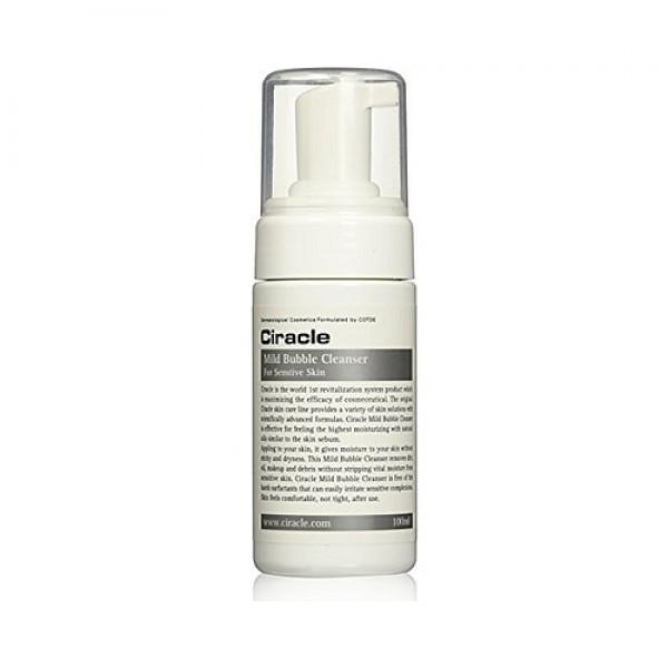 пенка для чувствительной кожиMild Bubble Cleanser. Пенка для чувствительной кожи<br><br>Мягкая, воздушная, состоящая их множества мельчайших пузырьков, пенка великолепно очищает кожу, как ее поверхность, так и поры, вымывая из них загрязнения.<br><br>&amp;nbsp;<br><br>Пенка рекомендуется для тех, у кого чувствительная кожу, реагирующая на обычные косметические средства раздражениями. Подойдет пенка и для обладательниц сухой кожи.<br><br>&amp;nbsp;<br><br>В составе пенки натуральные компоненты, увлажняющие и успокаивающие.<br><br>&amp;nbsp;<br><br>Гриб ганодерма (Ganoderma Lusidum, гриб рейши, гриб линчжи, трутовик лакированный или чага). Названий много, а воздействие на организм человека, а также на состояние кожи – еще больше. В традиционной китайской медицине рейши присвоена высшая категория, да и сама гриб принадлежит к классу высших.<br><br>&amp;nbsp;<br><br>В составе косметики оказывает мощное антиоксидантное действие, защищает кожу от преждевременного старения, поддерживает оптимальный уровень увлажнения, делает кожу эластичной и гладкой, способствует выравниванию тона и осветлению пигментации.<br><br>&amp;nbsp;<br><br>Регулярное применение пенки позволит поддерживать не только чистоту, но и красоту, и молодость кожи.<br><br>&amp;nbsp;<br><br>Способ применения: Вспенить средство и нанести на кожу лица массирующими движениями, затем тщательно смыть теплой водой.<br><br>&amp;nbsp;<br><br>Объём: 100 мл<br>