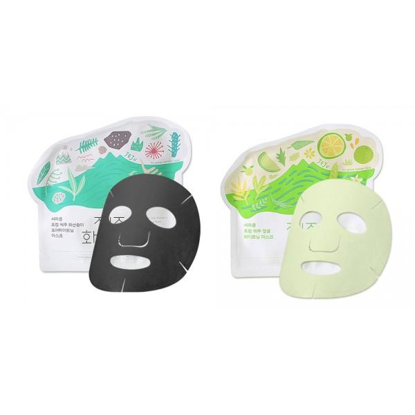 маска для лица тканевая ciracle jeju mask sheetJeju Mask Sheet.&amp;nbsp;Маска для лица тканевая<br><br>Легкие, мягкие, идеально прилегающие к лицу маски предназначены как для экспресс-ухода за кожей, так и для курсового применения. Маски пропитаны концентрированной эссенцией, которая проникает в глубокие слои кожи и воздействует на нее на клеточном уровне, позволяя решать различные кожные проблемы.<br><br>В составе эссенции морская вода (насыщение кожи полезными минералами), гиалуроновая кислота (интенсивное увлажнение), аллантоин (восстановление кожи), экстракты ягод ежевики, черной смородины, черники, клюквы и асаи (насыщение кожи витаминами и мощная антиоксидантная защита), а также ключевые для каждой маски компоненты.<br><br><br>Ciracle Jeju Citrus Sudachi Whitening Mask – маска тканевая осветляющая<br><br><br>В составе маски экстракт цитруса судаки, который содержит в высокой концентрации лимонную и&amp;nbsp;аскорбиновую кислоты, благодаря чему способствует выравниванию тона кожи и осветлению пигментации, а также вызывает легкую эксфолиацию кожи, удаляя отмершие частицы эпидермиса и ускоряя процессы обновления верхнего слоя кожи. Также экстракт регулирует работу сальных желез, сужает поры.<br><br>Ниацинамид усиливает осветляющее действие маски.<br><br><br>Ciracle Jeju Volcanic Pore-Tightening Mask – маска тканевая для сужения пор<br><br><br>В составе маски вуклканический пепел, который обладает прекрасными очищающими свойствами, абсорбирует загрязнения, кожный жир, выводит шлаки и токсины, помогает очистить кожу от черных точек и белых угрей, способствует сужению пор, нормализует работу сальных желез и матирует кожу.<br><br>Каолин усиливает очищающее и поросуживающее действие маски.<br><br>Способ применения: К чистой коже лица приложить маску, хорошо ее разгладить и оставить на 20-30 минут.<br><br>Вес: 21 г<br><br>Вес г: 21.00000000