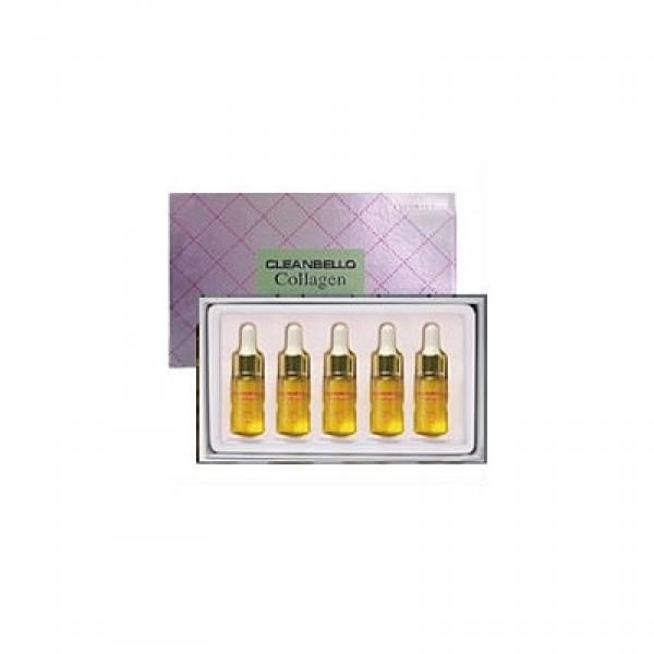 сыворотка ампульная коллагеновая для лица  deoproce cleanbello collagen essential moisture ampouleCleanbello Collagen Essential Moisture Ampoule 5x10ml. Сыворотка ампульная коллагеновая для лица&amp;nbsp;<br><br>&amp;nbsp;<br><br>Активная ампула- сыворотка с высоким содержанием морского коллагена и гиалуроновой кислоты, обеспечивает жизнеспособность, загрубевшей и потерявшей эластичность коже, восстанавливает и заполняет ее влагой, благодаря чему исчезают поверхностные морщины, глубокие становятся менее выраженными. <br><br>&amp;nbsp;<br><br>Действия ампул, так же активно защищает кожу от загрязненной окружающей среды, УФ лучей, что сейчас очень важно для поддержания здоровья и молодости кожи. <br><br>&amp;nbsp;<br><br>Активные ингредиенты: морской коллаген, коллаген Акации, экстракт зеленого чая, гиалуроновая кислота (оказывают антиоксидантное действие, приводят кожу в тонус, придавая ей упругость и сияние).<br><br>&amp;nbsp;<br><br>Подходит для любого типа кожи.<br><br>&amp;nbsp;<br><br>Способ применения: Перед сном, после снятия макияжа, выдавить 1-2 капельки средства на кончики пальцев и нанести на лицо, нежно массируя.<br><br>&amp;nbsp;<br><br>Объем: 5 ампул по 10 мл.<br>