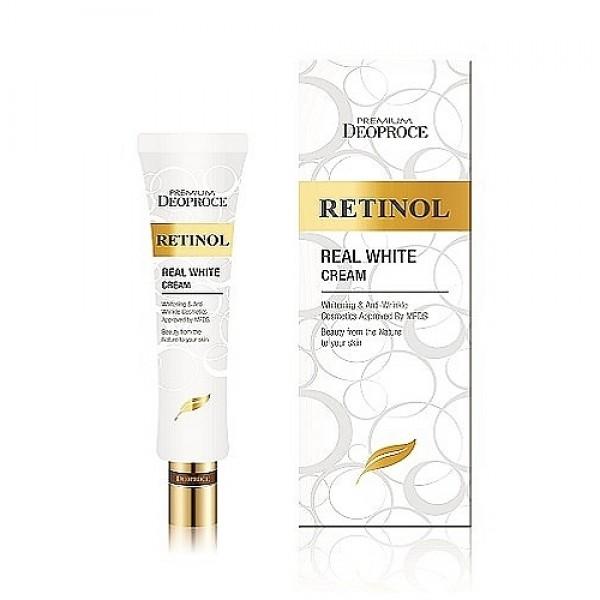 крем с ретинолом для век и носогубных складок deoproce premium deoproce retinol real white cream