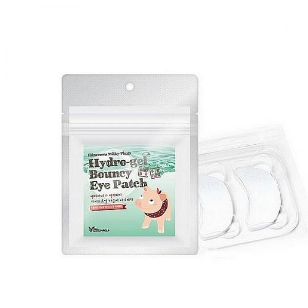 набор патчей для глаз с жемчугомMilky Piggy Hydro-Gel Bouncy Eye Patch. Набор патчей для глаз с жемчугом и гиалуроновой кислотой<br><br>Компактные и удобные патчи для омоложения кожи под глазами. Гидрогелевые полумесяцы под воздействием температуры тела растворяются, что создает уникальный микроклимат, который ускоряет кровообращение, благодаря чему максимально наполняет кожу увлажняющими и питательными компонентами. Патчи подтягивают и укрепляют кожу, оказывают лифтинговое действие.<br><br>&amp;nbsp;<br><br>В составе патчей коллаген, аденозин, экстракт алоэ вера и другие, полезные для кожи компоненты.<br><br>&amp;nbsp;<br><br>Коллаген отвечает за упругость и эластичность кожи, защищает ее от механических повреждений, поддерживает активную жизнедеятельность слоя эпидермиса. В составе патчей компенсирует потерю собственного коллагена и побуждает организм к его производству. Запуская эти процессы на клеточном уровне, маски помогают коже восстанавливаться и обновляться, она вновь становится упругой и эластичной, разглаживаются морщины, осветляется пигментация.<br><br>&amp;nbsp;<br><br>Аденозинрегулирует кровоток и обеспечивает клетки кожи энергией, значительно увеличивает выработку коллагена и эластина, смягчает и подтягивает кожу, восстанавливает ее после воздействия ультрафиолета, расслабляет лицевые мышцы, что способствует разглаживанию морщин.<br><br>&amp;nbsp;<br><br>Экстракт алоэ вера оказывает мощное восстанавливающее, оздоравливающее и омолаживающее действие, ускоряет заживление различных кожных воспалений и регенерацию, улучшает обменные процессы и стимулирует синтез коллагена и эластина.<br><br>&amp;nbsp;<br><br>Плотно прилегая к коже, патчи не мешают заниматься домашними делами.<br><br>&amp;nbsp;<br><br>Способ применения: Приложить патчи на кожу под глазами и оставить на 2 часа, затем патчи снять, а остатки средства вмассировать в кожу.<br><br>&amp;nbsp;<br><br>Количество: 20 шт.<br>