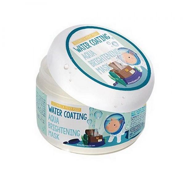 маска ночная увлажняющаяMilky Piggy Water Coating Aqua Brightening Mask. Маска ночная увлажняющая для сияния кожи<br><br>Маска идеально подходит для тех, чья кожа страдает от частых перепадов температуры, кто долгое время находится в отапливаемых и кондиционированных помещениях. Маска обеспечивает глубокую гидратацию кожи, оказывает омолаживающее действие, восстанавливает и осветляет кожу.<br><br>&amp;nbsp;<br><br>В составе маски экстракт морского винограда, а также сок бамбука и сок баобаба. Каулерпа, морской виноград или зелёная икра – одноклеточная морская водоросль с удивительно полезными свойствами. Ее маленькие круглые отростки, которые при лёгком надавливании лопаются, как икринки – источник минеральных веществ, белков и витаминов. Экстракт оказывает детоксицирующее действие, активизирует обменные процессы в клетках, устраняет дряблость кожи, восстанавливает ее тонус и эластичность, позволяет добиться лифтингового эффекта.<br><br>&amp;nbsp;<br><br>Экстракт бамбука – кладезь кремниевой кислоты, которая играет важную роль в обеспечении упругости и эластичности кожи. Оказывает антибактериальное, антиоксидантное действие, насыщает кожу витаминами и микроэлементами, увлажняет ее и улучшает структуру, используется как антивозрастной компонент, снижает отёчность кожи и помогает бороться с морщинами.<br><br>&amp;nbsp;<br><br>Экстракт баобаба – помогает справиться с сухостью кожи, с ее тусклостью и отечностью, улучшает эластичность и смягчает кожу. Является одним из лучших натуральных антивозрастных компонентов: восстанавливает регенерацию клеток и процессы метаболизма, улучшает структуру кожи, подтягивает и укрепляет ее.<br><br>&amp;nbsp;<br><br>При регулярном применении маски кожа будет оптимально увлажнена, ее тон станет ровнее и светлее.<br><br>&amp;nbsp;<br><br>Способ применения: Нанести маску на очищенную кожу лица и оставить на 15-20 минут, затем остатки средства удалить сухой салфеткой.<br><br>&amp;nbsp;<br><br>Вес: 100 гр.<br><br>Вес г: 100.00000000