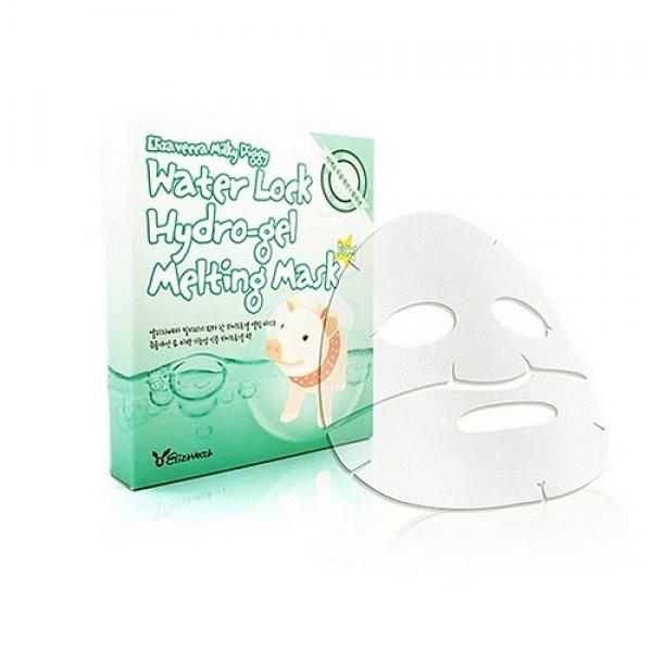 маска для лица гидрогелеваяMilky Piggy&amp;nbsp;Water Lock Hydrogel Melting Mask. Маска для лица гидрогелевая<br><br>&amp;nbsp;<br><br>Увлажняющая гидрогелевая маска, которая нагреваясь за счет температуры лица человека плотнее прилегает к коже. Используя эту маску можно забыть о сухой и грубой коже.<br><br>&amp;nbsp;<br><br>Маска способствует естественному запечатыванию влаги в клетках кожи лица, после чего кожа становится мягкой и гладкой.<br><br>&amp;nbsp;<br><br>Также маска сужает поры, выравнивает тон лица, улучшает упругость за счет содержания колагена и растительных экстрактов. Успокаивает подверженную внешним воздействиям кожу. Убирает воспаления.<br><br>&amp;nbsp;<br><br>Применение: После умывания и нанесения тоника, наденьте маску и оставьте на 15-20 мин. Остатки эссенции оставьте до полного впитывания.<br><br>&amp;nbsp;<br><br>Объем: 30 гр<br><br>Вес г: 30.00000000