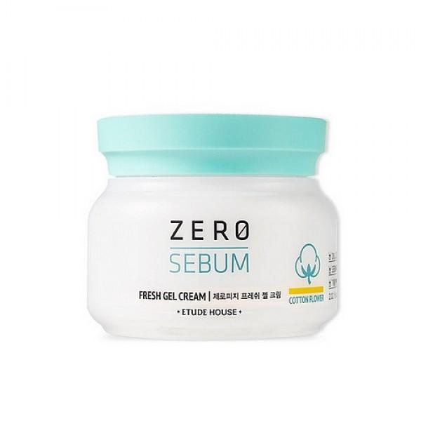 гель-крем для жирной кожи матирующийZero Sebum Fresh Gel Cream. Гель-крем для жирной кожи матирующий<br><br>Легкий гель-крем для жирной кожи. Не содержит масел. Легко наносится на кожу, мгновенно впитывается, не оставляя липкой пленки, прекрасно освежает, убирает жирный блеск и надолго матирует кожу, одновременно увлажняя ее изнутри.<br><br>&amp;nbsp;<br><br>Экстракт хлопка, сахарные полимеры и диоксид кремния в составе средства превосходно впитывают кожный жир и загрязнения, оказывают антибактериальное действие, очищают и сужают расширенные поры, контролируют выделение кожного жира, надолго матируют, успокаивают уставшую раздраженную кожу и делают ее визуально более ровной и гладкой.<br><br>&amp;nbsp;<br><br>Гиалуроновая кислота прекрасно увлажняет и поддерживает оптимальный уровень увлажнения кожи.<br><br>&amp;nbsp;<br><br>Гель-крем не содержит масла, продукты животного происхождения, триэтаноламин, красители и имидазолидинилмочевину.<br><br>&amp;nbsp;<br><br>Способ применения: Наносить на очищенную кожу на последнем этапе вашей косметической рутины.<br><br>&amp;nbsp;<br><br>Объем: 60 мл<br>