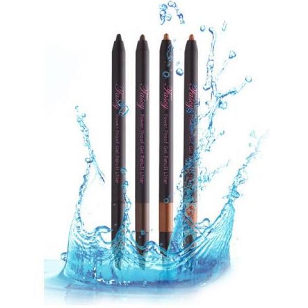 карандаш для глаз гелевый fascy power proof gel pencil linerPower Proof Gel Pencil Liner.&amp;nbsp;Карандаш для глаз гелевый<br><br>Подчеркнуть очарование глаз, сделать взгляд более выразительным, а макияж безупречным поможет гелевый карандаш. Мягкая текстура карандаша позволяет быстро, легко и не царапая нежную кожу век, нанести линию нужной толщины.<br><br>Частицы перламутра создают оригинальный и необычный цвет, а водостойкая формула обеспечивает сохранение макияжа в первоначальном виде в течение долгого времени.<br><br>Карандаш выпускается в 4 оттенках:<br><br><br>Glow Cocoa<br><br>Glow Mocha<br><br>Real Black<br><br>Real Brown<br><br><br>Способ применения: Провести карандашом по верхней и/или нижней линии века, начиная от внешнего уголка глаз.<br><br>Вес: 0.4 г<br><br>Вес г: 0.40000000
