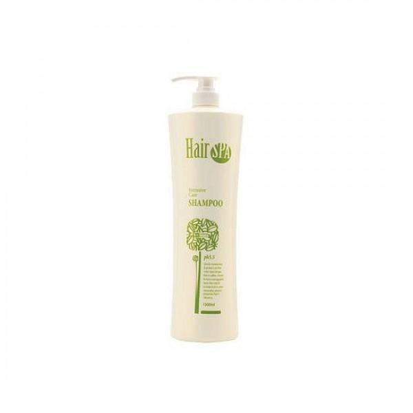 спа-шампунь укрепляющий  gain cosmetic hair spa intensive care shampooHair Spa Intensive Care shampoo. Спа-шампунь укрепляющий глубоко очищает и бережно ухаживает за волосами. <br><br>Шампунь содержит натуральные компоненты, которые укрепляют, увлажняют и питают кожу головы. Шампунь HAKEN Hair SPA Intensive Care Shampoo устраняет проблему сухости и тусклости волос, убирает ломкость и уменьшает проявление секущихся кончиков. <br><br>Регулярное применение шампуня придаст волосам объем, подарит блеск и сделает их мягкими, послушными и эластичными. <br><br>Способ применения: Небольшое количество шампуня нанести на влажные волосы, слегка помассировать и смыть теплой водой.<br>