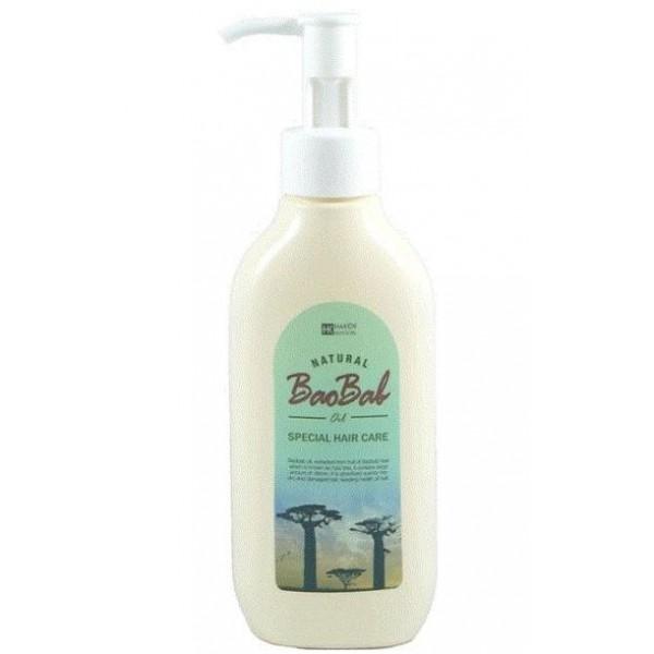 масло баобаба для волос gain cosmetic baobab oilBaobab Oil. Масло баобаба для волос<br><br>Масло баобаба содержит огромное количество витаминов и аминкислот, которые интенсивно увлажняют и оздоравливают кожу, убирают сухость и шелушение. Масло быстро впитывается, не оставляя жирного блеска.<br><br>Оно глубоко проникает в корни волос, укрепляет ослабленные волосяные луковицы и предупреждает выпадение волос. Средство, также защищает волосы от воздействия УФ-излучения, предупреждает их сухость и ломкость.<br><br>В результате применения волосы становятся гладкими, шелковистыми, здоровыми и блестящими. Масло обладает двойным действием и его можно наносить как на волосы, так и на тело.<br><br>Способ применения: Нанести небольшое количество масла на влажные волосы, затем подсушить волосы и придать им форму. В случае использования на тело, нанести масло на чистую кожу и легкими движениями втереть в кожу.<br><br>Объем: 150 мл<br>
