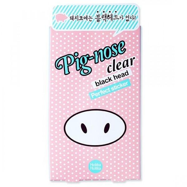 очищающая полоска для носа holika holika pig nose clear black head perfect stickerPig Nose Clear Black Head Perfect Sticker.&amp;nbsp;Очищающая полоска для носа<br><br>Одноразовые наклейки-патчи для удаления черных точек. Быстрый и эффективный способ очистить поры кожи в домашних условиях.<br><br>&amp;nbsp;<br><br>Состав, которым пропитаны стикеры, абсорбирует излишки кожного жира, вытягивает из пор загрязнения и одновременно оказывает противовоспалительное действие, предупреждает быстрое появление новых черных точек.<br><br>&amp;nbsp;<br><br>Активные компоненты:<br><br><br>Каолин (белая глина) – обладает мягким отшелушивающим действием, адсорбирует кожное сало, выводит шлаки и токсины, насыщает кожу микроэлементами, дезинфицирует, оказывает легкое отбеливающее действие.<br><br>Экстракт лимона – очищает и тонизирует кожу, сужает поры.<br><br><br>Регулярное использование очищающих полосок от Holika Holika, особенно в комплексе с другими средствами серии, поможет сделать кожу носа чистой и гладкой.<br><br>&amp;nbsp;<br><br>Способ применения:&amp;nbsp;смочить кожу носа водой и плотно приклеить стикер, предварительно сняв с него защитную пленку. Через 10-15 минут, когда стикер полностью высохнет, быстро снять его.<br><br>&amp;nbsp;<br><br>Вес:&amp;nbsp;1 г<br><br>Вес г: 1.00000000