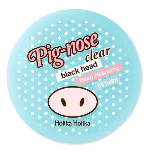 бальзам для глубокой очистки пор holika holika pig nose clear black head deep cleansing oil balmPig Nose Clear Black Head Deep Cleansing Oil Balm.&amp;nbsp;Бальзам для глубокой очистки пор<br><br>Бальзам, который быстро и без проблем справится с загрязнениями кожи. Приятная на ощупь текстура бальзама в считанные минуты устраняет излишние кожные выделения и проникает максимально глубоко в поры, впитывая и выводя все загрязнения.<br><br>Базовый ингредиент бальзама-маски — это полезная розовая глина, которая абсорбирует кожный жир и регулирует функционирование сальных желез.<br><br>Лимонный экстракт увлажняет кожу и выравнивает ее тон, а также предупреждает возникновение воспалений благодаря комбо-эффекту во взаимодействии с алоэ вера.<br><br>Продукт упакован в удобный контейнер, который легко взять с собой куда угодно. Чистота, свежесть и эффективность только увеличиваются при использовании совместно с другими продуктами серии.<br><br>Способ применения: Массирующими круговыми движениям распределите небольшое количество средства на Т-зоне лица, оставьте для активизации на 10 минут. Затем смойте теплой водой, продолжая массаж.<br><br>Объем: 30 мл<br>