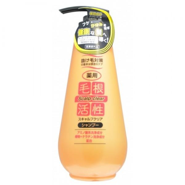 шампунь против перхоти junlove scalp clear shampooScalp Clear Shampoo. Шампунь против перхоти<br><br>Уход за кожей головы — первый шаг в борьбе против выпадения волос. Шампунь эффективно удаляет загрязнения и излишки кожного жира, активно воздействует на корни волос, препятствуя выпадению волос и предотвращая появление перхоти и зуда. Содержит моющие вещества на основе аминокислот, а также растительные моющие вещества с содержанием кератина.<br><br>Натуральные растительные экстракты, входящие в состав шампуня, активизируют обменные процессы в луковице волоса, что усиливает рост волос и способствует быстрому проникновению питательных веществ. Увлажняет и смягчает кожу головы, делает волосы здоровыми.<br><br>Активные компоненты:<br><br><br>Калия кокаил гидролизованный кератин (моющее вещество) придаёт волосам дополнительный объём и глянец, делая их упругими и прочными.<br><br>Глицирризинат дикалия и пироктоноламин очищают кожу головы, предотвращают появление перхоти и зуда, обладают противовоспалительным действием. Пироктоноламин уничтожает микроорганизмы, вызывающие перхоть.<br><br>Хинокитиол, экстракт моркови и экстракт сверции японской активизируют рост волос за счёт улучшения кровообращения в клетках кожи головы, делают кожу головы упругой, а волосы - сильными и здоровыми.<br><br>100% натуральное рисовое масло и органическое кокосовое масло первого отжима удерживают влагу в волосах и коже головы.<br><br><br>Шампунь имеет слабую кислотность, не содержит искусственных красителей.<br><br>Сочетает в себе освежающий аромат ландыша и изысканный аромат розы.<br><br>Способ применения: несколькими нажатиями выдавить и нанести массирующими движениями на влажные волосы необходимое количество средства, смыть тёплой водой.<br><br>Меры предосторожности: не используйте средство, если оно вызывает покраснение, раздражение, зуд или воспаление кожи головы, проконсультируйтесь с врачом-дерматологом. При попадании в глаза сразу же промойте их водой. Храните в недоступных для детей ме