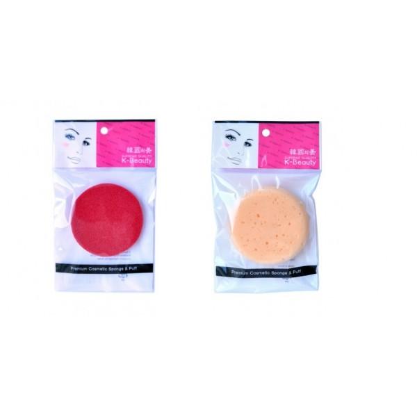 спонж косметический для очищения кожи лица k-beauty k-beauty premium cosmetic spongeK-BEAUTY Premium Cosmetic Sponge.<br><br>Спонж косметический для очищения кожи лица.<br><br>Представлен в двух вариантах:<br><br><br>очищающий<br><br>скрабирующий<br>&amp;nbsp;<br><br><br>Очищающий. <br><br>Косметический спонж предназначен для очищения кожи лица, снятия макияжа и остатков косметических масок. Благодаря пористой структуре способствует отшелушиванию ороговевших клеток кожи, массирует кожу лица, улучшает микроциркуляцию, что повышает тонус, придает коже упругость и эластичность. Мягкий и нежный спонж не травмирует, подходит даже для чувствительной кожи.<br><br>Скрабирующий.<br><br>Косметический спонж предназначен для очищения кожи лица и снятия макияжа. Благодаря пористой структуре способствует отшелушиванию ороговевших клеток кожи, массирует кожу лица, улучшает микроциркуляцию, что повышает тонус, придает коже упругость и эластичность. Cпонж не травмирует кожу.<br><br>Способ применения: увлажните спонж теплой водой, нанесите на кожу или на спонж очищающее средство, вспеньте и нежно помассируйте кожу лица. Умойтесь теплой водой. После использования промойте и высушите спонж. Рекомендуется менять спонж через 1-3 месяца (в зависимости от частоты использования).<br><br>Меры предосторожности: используйте спонж только по назначению. Держите в местах, недоступных для детей.<br><br>Состав (очищающего спонжа): EPDM (синтетический этилен-пропиленовый каучук).<br><br>Состав (скарбирующего спонжа):&amp;nbsp;полиуретан.<br><br>1 шт.<br>