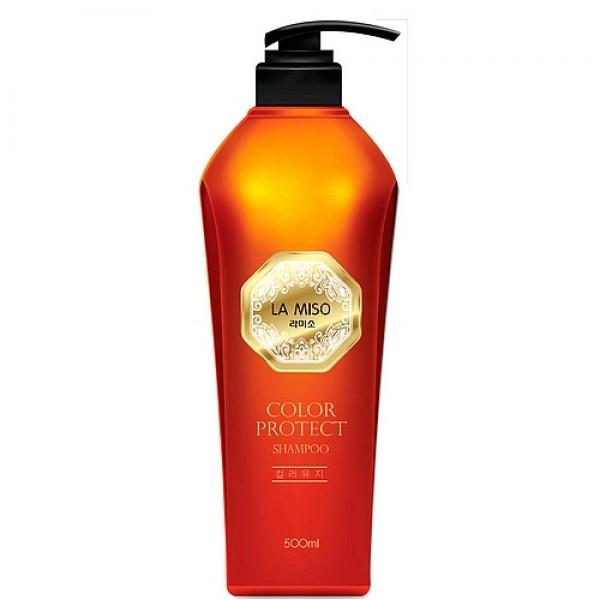 шампунь для сохранения цвета волосColor Protect Shampoo. Шампунь для сохранения цвета волос<br><br>В состав серии &amp;nbsp;COLOR PROTECT входит экстракт аира тростникового, содержащий множество полезных для волос витаминов и минералов. Он помогает предотвратить выпадение и усиливает рост волос. Экстракт аира тростникового в составе средства придает эластичность и упругость поврежденным в результате окрашивания волосам и дарит им здоровый блеск. &amp;nbsp;Шампунь обладает слабой кислотностью, что позволяет сохранить стойкость и насыщенность цвета окрашенных волос на протяжении длительного времени.<br><br>&amp;nbsp;<br><br>Шампунь не содержит сульфаты и силиконы и способствует бережному очищению, не утяжеляя и не пересушивая волосы.<br><br>&amp;nbsp;<br><br>Состав: Water, Disodium Laureth Sulfosuccinate, Lauramide DEA, Polyquaternium-7, Citric acid, Cocoamido Propyl betaine, Acorus Calamus Root Extract , Polyqutermium-10, Perfume, Sodium Benzoate , Disodium EDTA<br><br>&amp;nbsp;<br><br>Применение: Нанесите небольшое количество средства на влажные волосы. Начиная от корней, распределите шампунь по длине. Помассируйте несколько минут круговыми движениями, затем тщательно смойте теплой водой. Подходит для ежедневного применения.<br><br>&amp;nbsp;<br><br>Объем: 500 мл<br>