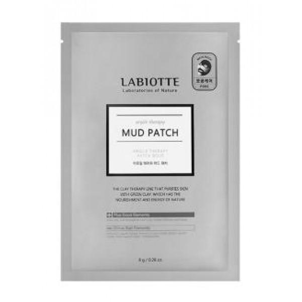 маска-патч грязевая labiotte argile therapy mud patchArgile Therapy Mud Patch. Маска-патч грязевая<br><br>Маска-патч содержит зеленую глину, экстракт алоэ вера, экстракт мелиссы и т.д.<br><br>Зеленая глина, богатая природными минералами, тщательно очищает кожу от загрязнений, делает ее гладкой и бархатной.<br><br>Экстракт алоэ вера сужает поры, экстракт мелиссы очищает.<br><br>Способ применения: на очищенную кожу тонером лицо, плотно нанесите лист макси (в виде бабочки) на щеки и нос, половинку листа нанесите на лоб или подбородок на 25 минут, после снимите маску и тщательно смойте теплой водой.<br><br>Вес: 8 г<br><br>Вес г: 8.00000000