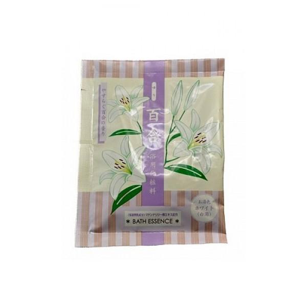 соль для ванны (с экстрактом лилии) max lily bath saltLily Bath Salt. Соль для ванны увлажняющая (с экстрактом лилии) снимает усталость, увлажняет кожу, смягчает, придает ей упругость и эластичность.<br>Экстракт лилии защищает кожу от неблагоприятных воздействий окружающей среды, снимает воспаление и красноту, успокаивает раздраженную кожу, обладает регенерирующими свойствами.<br>Ароматный пар и нежный цвет воды улучшают настроение, успокаивают, создают атмосферу уюта и комфорта.<br><br>Состав: сульфат натрия, бикарбонат натрия, оксид титана, двуокись кремния, экстракт клубней белой лилии, декстрин, BG, вода, PEG-150 дистеарат, стеарет-13, натрий олеат, отдушка.<br><br>Способ использования: содержимое одного пакетика (25 г) рассчитано на 180 л воды. Растворить в воде перед принятием ванны.<br><br>Меры предосторожности: храните средство в недоступном для маленьких детей месте. Не используйте для иных целей, кроме принятия ванны. При возникновении во время или после применения данного средства на коже сыпи, покраснении, зуда, раздражений и др. изменений прекратите использование и обратитесь к врачу. Не храните в местах с высокой температурой и влажностью. После вскрытия упаковки используйте сразу все содержимое. При попадании средства в глаза, немедленно промойте обильным количеством воды.<br><br>25 г * 1 шт.<br><br>Вес г: 25.00000000