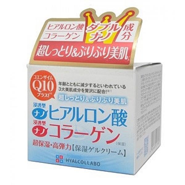 глубокоувлажняющий крем с наноколлагеном meishoku hyalcollabo creamHyalcollabo Cream. Глубокоувлажняющий крем (с наноколлагеном и наногиалуроновой кислотой) глубоко увлажняет, активно подтягивает кожу, поддерживает оптимальный уровень влаги в клетках, придаёт коже упругость и эластичность.<br><br>Активные компоненты - наноколлаген и наногиалуроновая кислота в составе крема обладают особыми увлажняющими свойствами. Они обеспечивают глубокое увлажнение и упругую сияющую кожу.<br>Размер частицы наногиалуроновой кислоты составляет 1/100 от размера молекулы обычной гиалуроновой кислоты. Наногиалуроновая кислота интенсивно проникает в клетки кожи, глубоко увлажняя ее.<br>Размер частицы наноколлагена составляет 1/30 от размера молекулы обычного коллагена. Наноколлаген придаёт коже упругость и эластичность.<br>Коже жизненно необходимы оба компонента. Именно в таком двойном сочетании они глубоко увлажняют и активно подтягивают кожу, великолепно дополняя друг друга.<br><br>Экстракт коры белой ивы позволяет влаге более глубоко проникать в клетки кожи, активизирует кровообращение, улучшая снабжение кожи кислородом.<br>Коэнзим Q10 - мощный антиоксидант, замедляет процесс старения, снабжает клетки кожи энергией и ускоряет их регенерацию.<br>Крем не содержит искусственных красителей, имеет слабую кислотность, без отдушек.<br><br>Способ применения: рекомендуется наносить после использования лосьона и косметического молочка данной серии.<br><br>Меры предосторожности: не использовать при появлении покраснений, зуда, раздражения кожи. В случае возникновения аллергических реакций, прекратите использование средства и проконсультируйтесь с дерматологом.<br><br>Состав: вода, глицерин, BG, минеральные масла, С6-12, гидролизат гиалуроновой кислоты, гидролизованный коллаген, коэнзим Q10, экстракт коры ивы, BG, SE, пчелиный воск, ксантановая кислота, полисорбат 60, цетанол, фосфат -5, карбомер, оксибензон - 4, токоферол, метилпарабен, пропилпарабен.<br>48 г.<br><br>Вес г: 48.00000000