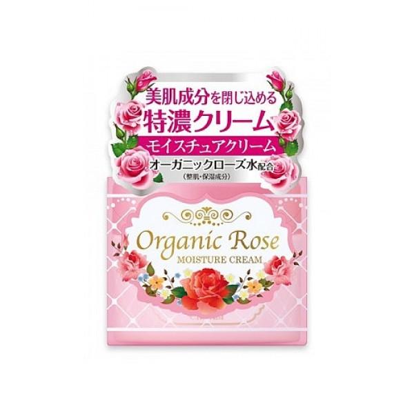 увлажняющий крем с экстрактом розы meishoku organic rose moisture creamOrganic Rose Moisture Cream. Увлажняющий крем с экстрактом дамасской розы эффективно защищает&amp;nbsp; кожу от проблем, связанных с сухостью, восстанавливая защитный барьер и создавая невидимую «пленку». Делает кожу упругой и эластичной.<br><br>В состав крема входит экстракт ячменя, удерживающий влагу в коже, масло Ши –защитный компонент, а также цветочную воду дамасской розы - компонент, нормализующий состояние кожи.<br>Экстракт дамасской розы освежает и тонизирует уставшую кожу, насыщает ее витаминами.<br><br>Способ применения: после очищения кожи лица нанесите небольшое количество крема похлопывающими движениями до полного впитывания. Используйте утром и вечером.<br><br>Состав: вода, глицерин, дипропиленгликоль, минеральное масло, стеариловый спирт, глицерил стеарат, этилгексил пальмитат, гидрогенизированный поли - (С6-12 олефин), масло Ши, полисорбат-60, цветочная вода из лепестков дамасской розы, экстракт дамасской розы, экстракт коикса, трицетет-5 фосфат, диметикон, карбомер, BG (бутиленгликоль), токоферол, гидроксид натрия, метилпарабен, пропилпарабен, отдушка.<br><br>Меры предосторожности: при покраснении, зуде, раздражении после применения прекратите использование средства и проконсультируйтесь с врачом-дерматологом. После использования плотно закрывайте крышкой. Храните в недоступных для детей местах.<br><br>50 г<br><br>Вес г: 50.00000000