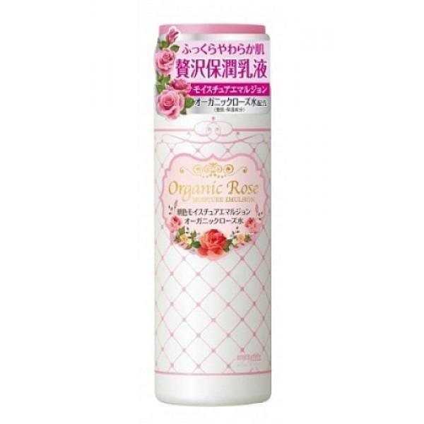 увлажняющая эмульсия с экстрактом розы meishoku organic rose moisture emulsionOrganic Rose Moisture Emulsion. Увлажняющая эмульсия с экстрактом дамасской розы бережно ухаживает за кожей, способствует сохранению влаги, нормализует гидро - липидный баланс, смягчает кожу, делает ее гладкой и нежной.<br><br>В состав эмульсии входят нанокапсулы, cодержащие&amp;nbsp; экстракт ячменя, удерживающий влагу в коже, сквалан, смягчающий кожу, а также цветочную воду дамасской розы - компонент, нормализующий состояние кожи.<br>Экстракт дамасской розы освежает и тонизирует уставшую кожу, насыщает ее витаминами.<br><br>Способ применения: нанесите необходимое количество средства на очищенную кожу лица ватным диском или кончиками пальцев.<br><br>Состав: вода, глицерин, дипропиленгликоль, минеральное масло, гидрогенизированный поли- (С6-12 олефин), глицерил стеарат SE, этилгексил пальмитат, трицетет-5 фосфат,&amp;nbsp; диметикон, цетанол, полисорбат-60, петролатум, метилпарабен, ксантановая камедь, пропилпарабен, карбомер, отдушка, цветочная вода из лепестков дамасской розы, экстракт дамасской розы, сквалан, BG, токоферол, BHT, экстракт коикса.<br><br>Меры предосторожности: при покраснении, зуде, раздражении после применения прекратите использование средства и проконсультируйтесь с врачом-дерматологом. После использования плотно закрывайте крышкой. Храните в недоступных для детей местах.<br><br>145 мл.<br>&amp;nbsp;<br>
