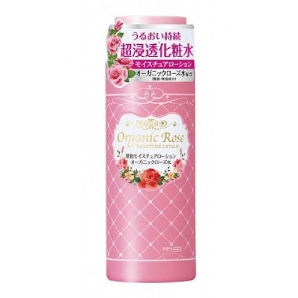 увлажняющий лосьон-уход с экстрактом розы meishoku organic rose moisture lotionOrganic Rose Moisture Lotion. Увлажняющий лосьон-уход с экстрактом дамасской розы превосходно ухаживает за кожей, поддерживает оптимальный уровень влаги в клетках кожи. Глубоко проникает. Помогает сделать кожу здоровой и красивой.<br><br>В состав геля входят нанокапсулы, содержащие&amp;nbsp; компоненты, удерживающие влагу в коже – гиалуроновую кислоту и экстракт ячменя, а также цветочную воду дамасской розы - компонент, нормализующий состояние кожи.<br>Экстракт дамасской розы освежает и тонизирует уставшую кожу, насыщает ее витаминами.<br><br>Состав: вода, глицерин, дипропиленгликоль, сорбит, диглицерин, пентиленгликоль, PEG/PPG/полибутиленгликоль-8/5/3 глицерин, пуллан, стирен/ сополимер, PEG-60-гидрогенизированное касторовое масло, метилпарабен, карбомер, цитрат натрия, EDTA-2 Na, гидроксид натрия, лимонная кислота, полиакрилат натрия, этилпарабен, отдушка, PEG-20M, цветочная вода из лепестков дамасской розы, экстракт дамасской розы, сорбиновая кислота, BG, гиалуронат натрия, феноксиэтанол, экстракт коикса.<br><br>Способ применения: нанесите необходимое количество средства на очищенную кожу лица ватным диском или кончиками пальцев.<br><br>Меры предосторожности: при покраснении, зуде, раздражении после применения прекратите использование средства и проконсультируйтесь с врачом-дерматологом. После использования плотно закрывайте крышкой. Храните в недоступных для детей местах.<br><br>210 мл.<br>&amp;nbsp;<br>