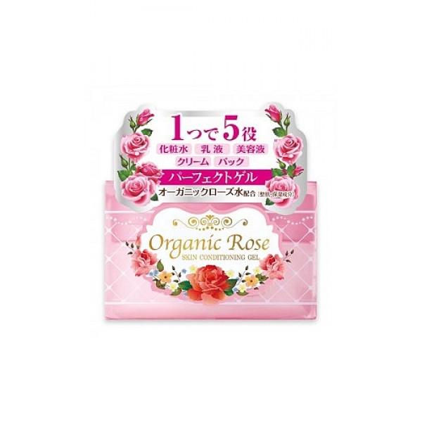гель-кондиционер с экстрактом розы meishoku organic rose skin conditioning gelOrganic Rose Skin Conditioning Gel. Увлажняющий гель-кондиционер для кожи лица с экстрактом дамасской розы заменяет 5 продуктов: лосьон,&amp;nbsp; косметическое молочко,&amp;nbsp; сыворотку, крем&amp;nbsp; и маску.&amp;nbsp; Глубоко увлажняет, способствует удержанию влаги в коже.&amp;nbsp; Делает кожу упругой, здоровой и подтянутой.&amp;nbsp; Устраняет проблемы кожи,&amp;nbsp; вызванные сухостью.<br><br>В состав геля&amp;nbsp; входят нанокапсулы, содержащие экстракт ячменя,&amp;nbsp; удерживающие влагу в коже и&amp;nbsp; коллаген для упругости, а также цветочную воду дамасской розы - компонент, нормализующий состояние кожи.<br><br>Экстракт дамассой розы увлажняет, освежает и тонизирует&amp;nbsp; уставшую кожу, нормализует обменные процессы в коже, насыщает ее витаминами.<br>Увлажняющий гель позволяет осуществить завершающий уход за кожей с помощью одного средства.<br><br>Способ применения: после очищения кожи лица нанесите небольшое количество геля похлопывающими движениями до полного впитывания. На особенно сухие участки нанесите пордукт&amp;nbsp; повторно.<br><br>Меры предосторожности: при покраснении, зуде, раздражении после применения прекратите использование средства и проконсультируйтесь с врачом-дерматологом. Храните в недоступных для детей местах.<br><br>Состав: вода, BG, глицерин, дипропиленгликоль, диметикон, масло жожоба, бетаин, масло семян пенника лугового, PEG-40 гидрогенезированное касторовое масло, поливиниловый спирт, карбомер, феноксиэтанол, ксантановая камедь, натрия гидроксид, отдушка, натрия полиакрилат, бензофенон-4, EDTA-2Na, токоферол, экстракт дамасской розы, цветочная вода из лепестков дамасской розы, гидрогенезированный лецитин, соевый стерол, гидролизированный коллаген, экстракт коикса.<br><br>90 г<br><br>Вес г: 90.00000000