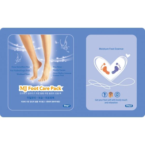 маска для ног с гиалуроновой кислотой mijin foot care packFoot Care Pack. Маска для ног с гиалуроновой кислотой предназначена для ухода за сухой и огрубевшей кожей ног в домашних условиях. Маска эффективно смягчает, питает и увлажняет кожу, снимает накопившуюся усталость и напряжение и дарит натруженным ножкам свежесть, приятную прохладу и комфорт.<br><br>Гиалуроновая кислота, аллантоин, бетаин и масла ши и жожоба в составе маски прекрасно увлажняют, смягчают и питают кожу. Экстракты грейпфрута и лимона и рисовые отруби мягко отшелушивает мертвые клетки и делает кожу гладкой и нежной. Экстракт гамамелиса обладает сильнейшим бактерицидным действием и активно борется с воспалениями.<br><br>Применение: Откройте пакет №1 с носочками, пропитанными эмульсией, и наденьте их на вымытые ножки. Затем откройте пакет №2, достаньте оттуда виниловые носочки и наденьте их поверх носочков из первого пакетика. Хорошо помассируйте ножки, чтобы как можно больше жидкости впиталась в кожу, и оставьте для воздействия на 15 минут. Затем снимите носочки, и вбейте остатки эссенции в кожу.<br><br>Вес г: 22.00000000