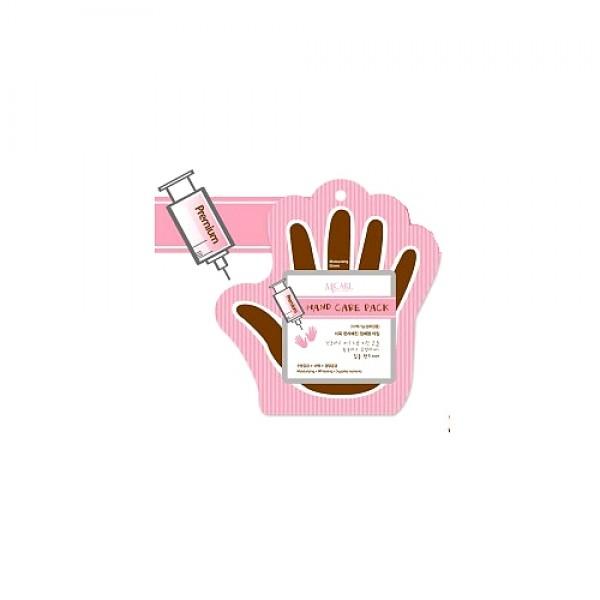 маска для рукPremium Hand Care Pack. Маска для рук - маска-перчатки для эффективного ухода за кожей рук пропитаны активным составом, в котором присутствуют натуральные компоненты, которые увлажняют и смягчают огрубевшую кожу рук, заживляют повреждения и порезы, разглаживают, осветляют, омолаживают, продлевая молодость и сохраняя красоту кожи рук.<br><br>Главные компоненты питательного состава MJ Premium Hand care pack косметического бренда Mijin:<br><br><br>Экстракт корня гречевника – дает микроэлементы для оптимального питания кожи рук.<br><br>Экстракт красного женьшеня – повышает тонус, улучшает эластичность, помогает бороться с процессом старения.<br><br>Экстракт коры тутового дерева – успокаивает, предотвращает и лечит воспаления, предотвращает появление раздражений.<br><br>Гиалуроновая кислота – мощный увлажняющий фактор, поддерживающий водный баланс, сохраняет упругость кожи рук.<br><br>Коллаген – омолаживает, стимулируя выработку собственного белка кожи, поддерживает омоложение.<br><br><br>&amp;nbsp;<br><br>Способ применения: На чистые сухие руки надеть перчатки, аккуратно помассировать руки для равномерного распределения средства. Перчатки снять, остатки эссенции не смывать. Рекомендуется использовать 2-3 раза в неделю.<br><br>&amp;nbsp;<br><br>Объем: 2*8 гр<br><br>Вес г: 16.00000000