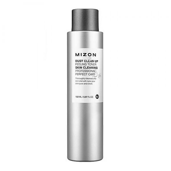 пилинг-тонер очищающийDust Clean Up Peeling Toner. Пилинг-тонер очищающий<br><br>Вредные примеси из воздуха, пыль и грязь, оседающие на лице, могут быть не заметны в зеркале, но очень ощутимы для кожи. Поэтому лицо нуждается в тщательном, правильном и регулярном очищении и уходе.<br><br>&amp;nbsp;<br><br>Инновационная серия средств Dust Clean Up от Mizon предназначена для жительниц больших городов, а также для тех, чья кожа склонна к покраснениям и воспалениям.<br><br>&amp;nbsp;<br><br>Пилинг-тонер поможет удалить отмершие частички и открыть дыхание для здоровых клеток, защитить кожу от негативного влияния окружающей среды, омолодить и оздоровить кожу. Рекомендуется при расширенных порах и наличии черных точек, для шершавой, сухой, огрубевшей кожи, для кожи с неровным тоном и воспалениями, а также при недостаточном впитывании обычных уходовых средств.<br><br>&amp;nbsp;<br><br>В составе тонера 3 группы активных компонентов:<br><br>Гликолиевая, молочная и цитрусовая кислоты. Их невысокая концентрация позволяет использовать средство для ежедневного ухода и, в отличие от салонных пилингов кислотами, не требует реабилитации и восстановления нормального внешнего вида кожи. Кислоты способствуют естественному отшелушиванию ороговевших клеток кожи, нормализуют ее природный 21-дневный цикл, когда старые клетки заменяются новыми, слой за слоем.<br><br>&amp;nbsp;<br><br>Компоненты для антиоксидантой защиты кожи: экстракт моринги, витамины Е и С. Экстракт из листьев морингиоказывает противовоспалительное, ранозаживляющее, успокаивающее действие, придает коже мягкость, эластичность, а также усиливает ее барьерные функции. Еще одно важное свойство моринги – способность защищать кожу от загрязнений микрочастицами и снижать оседание на коже сигаретного дыма и солей тяжелых металлов.<br><br>&amp;nbsp;<br><br>Масла кокоса, жожоба, арганы, гиалуроновая кислота и экстракты растений великолепно увлажняют, питают и смягчают кожу, усиливают защитную функции средства.<br><br>&amp;nbsp;<br><