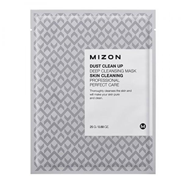 маска тканевая очищающая mizon mizon dust clean up deep cleansing maskMizon Dust Clean Up Deep Cleansing Mask. Маска тканевая очищающая<br><br>Тканевая маска пропитана концентрированной эссенцией и защищает кожу лица от вредного воздействия окружающей среды, очищая ее от пыли и грязи, способствует выведению токсинов. Маска применяется при расширенных порах и наличии черных точек, для шершавой, сухой, огрубевшей кожи, для кожи с неровным тоном и воспалениями.<br><br>Маска эффективно удаляет отмершие частички и открывает дыхание для здоровых клеток, очищает поры и способствует обновлению кожи, оказывает противовоспалительное и успокаивающее действие. При нанесении на кожу маска через некоторое время начинает пениться, и тысячи маленьких пузырьков мяго массируют кожу, снимают стресс, расслабляют.<br><br>Способ применения: На очищенную и тонизированную кожу равномерно распределить маску, через 5-10 минут, после прекращения пенообразования, маску убрать, остатки смыть теплой водой.<br><br>Вес: 25 г<br><br>Вес г: 25.00000000