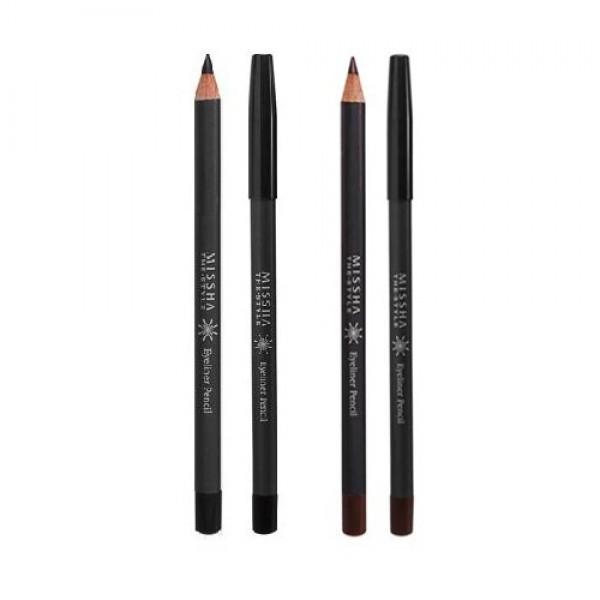 карандаш-подводка для глаз missha the style eye liner pencilThe Style Eye Liner Pencil. Карандаш-подводка для глаз<br><br>Мягкий карандаш с кремовой текстурой позволит нанести тонкую и безупречную линию. Карандаш хорошо растушевывается, если вы хотите создать яркий образ. Карнаубский натуральный воск делает карандаш очень стойким, предотвращает размазывание или осыпание карандаша, а также позволяет подводке сохранять первоначальную свежесть и яркость цвета.<br><br>Натуральные компоненты карандаша не раздражают даже самую чувствительную кожу век, а также защищают её от преждевременного старения и негативного влияния окружающей среды.<br><br>Карандаш&amp;nbsp;мягко наносится, не царапает кожу, не отпечатывается на веках, не течет в жару. Легко точится и экономично расходуется.<br><br>Возможные оттенки:<br><br><br>№1 - Black - Черный<br><br>№2 - Brown - Коричневый<br><br><br>Способ применения: Провести линии нужной толщины по верхнему и/или нижнему веку.<br><br>Вес: 4 г<br><br>Вес г: 4.00000000