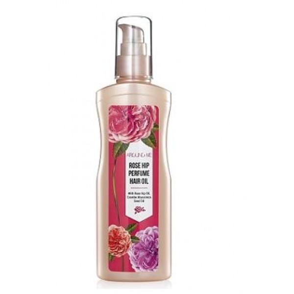 масло для волос парфюмированное welcos around me rose hip perfume hair oilAround me Rose Hip Perfume Hair Oil. Масло для волос парфюмированное<br><br>Масло для волос с экстрактом лепестков розы позволяет сделать волосы мягкими и шелковистыми.<br><br>Средство подходит для всех типов волос, придает невероятный объем и не оставляет липкости после нанесения.<br><br>Экстракт лепестков роз оказывает питание волосам, не утяжеляя их.<br><br>Способ применения: После мытья волос нанести необходимое количество масла на сухие или слегка влажные волосы, распределить по всей длине.<br><br>Объем: 155 мл<br>