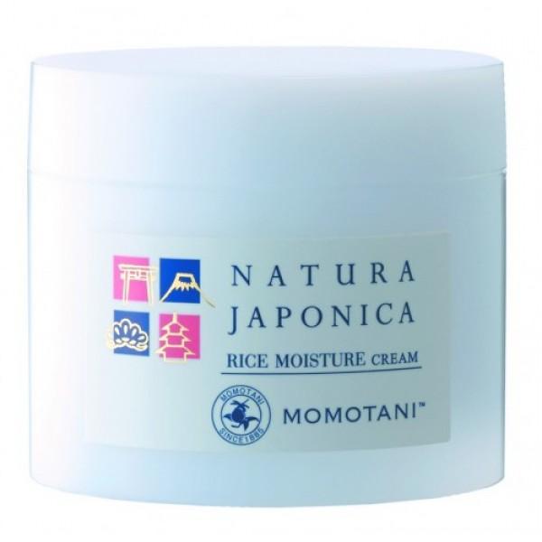 крем увлажняющий  momotani nj rice moisture creamNJ Rice Moisture Cream. Увлажняющий крем <br><br>Активные компоненты: <br><br><br>Экстракт ферментированного риса богат минералами, аминокислотами и органическими кислотами (молочная, яблочная, лимонная и т. д.), а также имеет низкомолекулярный состав, что позволяет питательным веществам глубже проникать в кожу. Придает коже гладкость и упругость.<br><br>Рисовый экстракт, получаемый из отборного белого риса, придает коже упругость, эластичность и насыщает ее влагой.<br><br>Церамиды риса растительного происхождения, получаемые из рисовых отрубей и пророщенного риса, защищают кожу и удерживают в ней влагу.<br><br>Экстракт рисовых отрубей, получаемый из рисовых отрубей и пророщенного риса, восстанавливает кожу, делая ее увлажненной и светящейся изнутри.<br><br>Масло рисовых отрубей питает кожу, придает ей гладкость и упругость.&amp;nbsp;<br><br><br>Продукт производится из тщательно отобранного риса, произрастающего в префектуре Миэ, и родниковой воды с подножия горы Сузуки, насыщенной минералами, в том числе кальцием и магнием. Не содержит ароматизаторов и красителей; обладает слабокислыми свойствами.<br><br>Способ применения: нанесите на лицо небольшое количество крема, размером с 2 жемчужины, после применения лосьона и / или сыворотки. Используйте крем утром и / или вечером, а также как основу под макияж. *Рекомендуется использовать в сочетании с другими продуктами серии NATURA JAPONICA.<br><br>Меры предосторожности: при покраснении, зуде, раздражении после применения прекратите использование средства и проконсультируйтесь с врачом-дерматологом. Не храните в местах повышенных/пониженных температур, избегайте попадания прямых солнечных лучей. Храните в недоступном для детей месте.<br><br>Состав: вода, DPG, минеральное масло, глицерин, цетилэтилгексаноат, BG, диметикон, гидрогенизованное касторовое масло PEG-40,карбомер, полиакриламид, С13-14 изопарафин, гидроксид натрия, акрилат/С10-30 алкил акрилат кроссполимер, лаурет