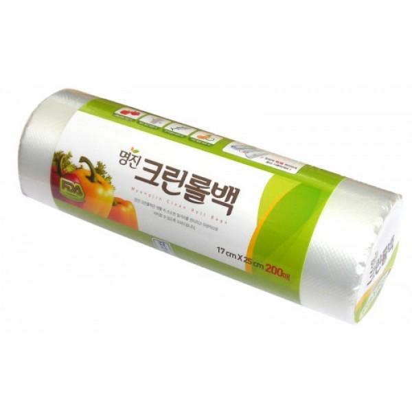 пакеты полиэтиленовые пищевые в рулоне myungjin bags roll typeBags Roll Type. Пакеты полиэтиленовые пищевые в рулоне<br><br>Безопасные, удобные и прочные пакеты изготовлены из полиэтилена низкого давления. Предназначены для хранения пищевых и непищевых продуктов.<br>Упакованы в рулоны.<br><br>Используются в диапазоне температур от -600С до 1200С. Подходят для заморозки и разогрева продуктов в СВЧ печах.<br><br>Состав: HDPE F500 (полиэтилен низкого давления).<br><br>Меры предосторожности: не нагревайте пакет в микроволновой печи, если он находится в закрытом состоянии или в нем хранятся продукты питания с большим содержанием жира. Не упаковывайте жидкие товары, они могут вытечь. Острые предметы или инструменты могут повредить пакет. Не подносите близко к огню.<br><br>Размеры:<br><br><br>25 x 35 см<br><br>17 x 25 см<br><br><br>Количество: 200 шт.<br><br>Вес г: 100.00000000