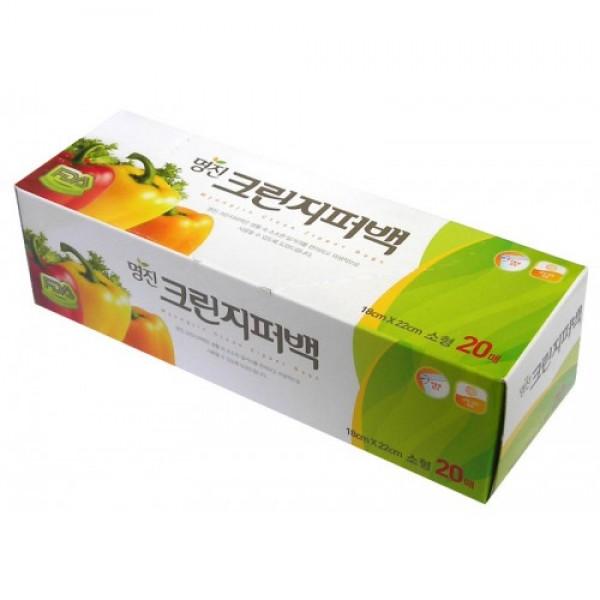 пакеты полиэтиленовые пищевые с застежкой – зиппером в коробке myungjin bags zipper typeBags Zipper Type. Пакеты полиэтиленовые пищевые с застежкой – зиппером в коробке<br><br>Безопасные, удобные и прочные пакеты изготовлены из полиэтилена высокого давления.<br><br>Пакеты предназначены для хранения пищевых и непищевых продуктов; очень удобны для хранения сыпучих продуктов и мелких бытовых товаров.<br><br>Могут использоваться как для подогрева продуктов в СВЧ - печи, так и для заморозки. При этом не теряют своих свойств.<br><br>Преимущества пакетов с застежкой - зиппером:<br><br><br>позволяют быстро и герметично упаковывать как пищевые продукты, в том числе жидкие, так и промышленные товары;<br><br>надолго сохраняют свежесть продуктов и потребительские качества товаров;<br><br>блокируют проникновение влаги и неприятных запахов;<br><br>возможность многократного использования.<br><br><br>Пакеты упакованы в картонную коробку с отверстием для удобного их извлечения.<br><br>Меры предосторожности: не подносите близко к огню. Храните в труднодоступных для детей местах. Острые предметы или инструменты могут повредить пакет. Если продукт в пакете содержит большое количество жира, не разогревайте его в микроволновой печи. Не подвергайте воздействию температур ниже -100С.<br><br>Размеры:<br><br>25 x 30 см<br><br>18 x 22 см<br><br>Количество:&amp;nbsp;20 шт.<br><br>Вес г: 50.00000000